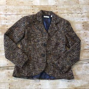 Women's Coldwater Creek Boucle tweed blazer
